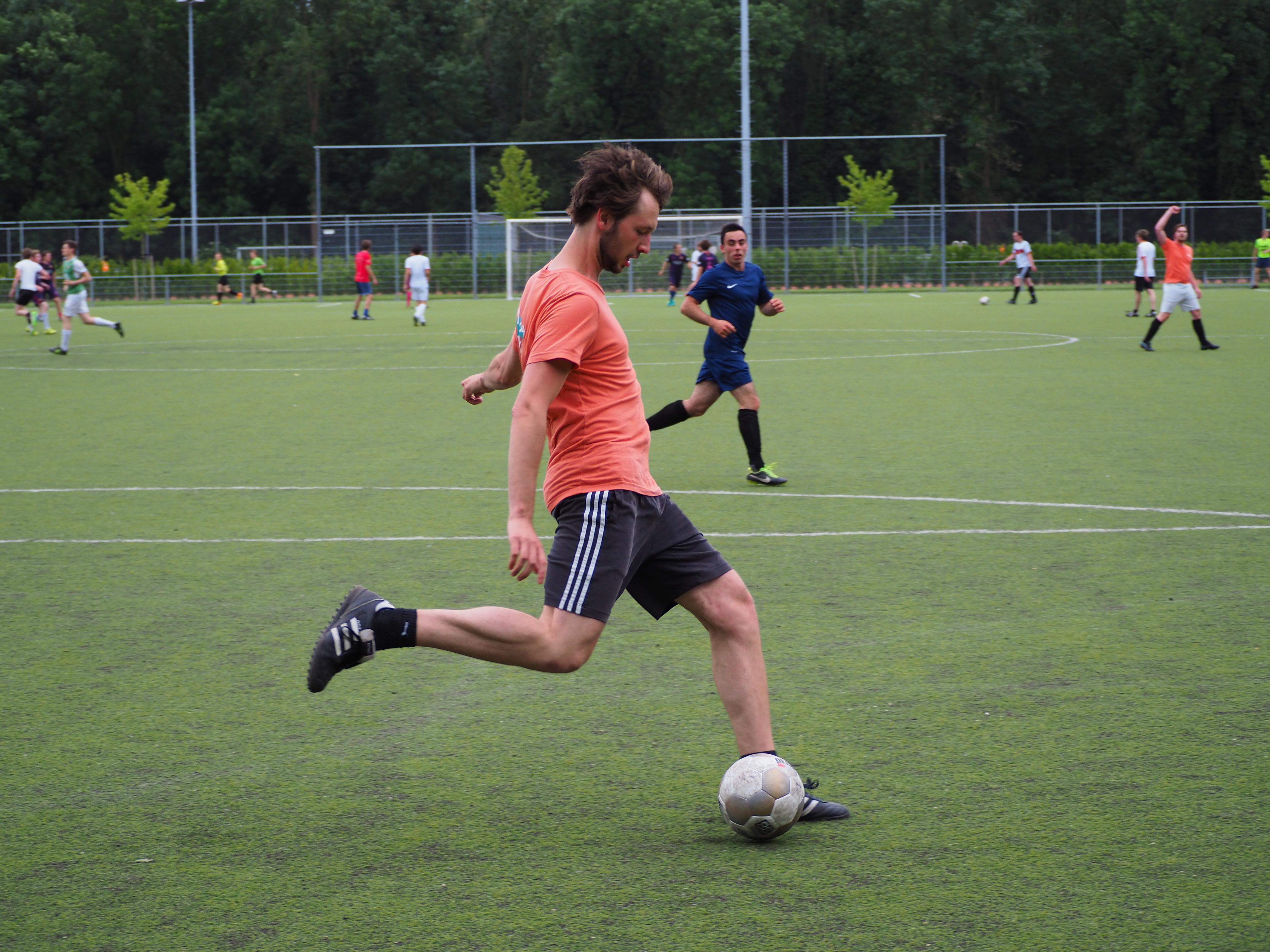 Het VGSD voetbalteam